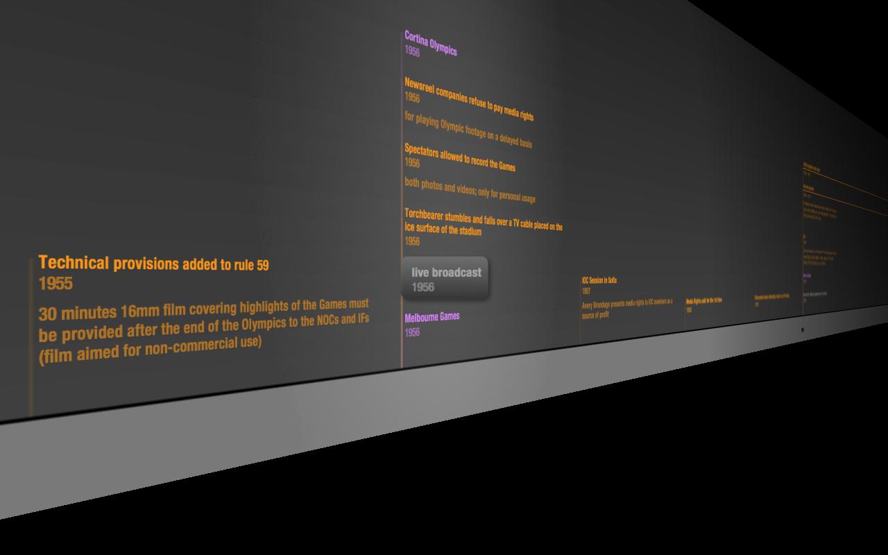 BeeDocs Timeline 3D