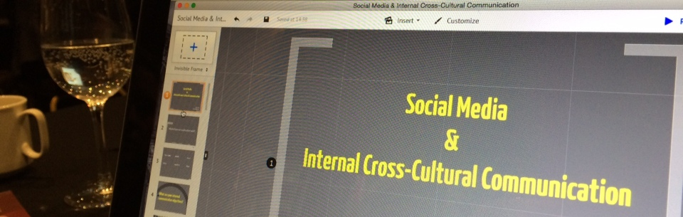 social media internal cross-cultural communication